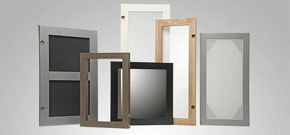 MDF, Spanplatte, PVC Folie Möbelrahmen, Bilderrahmen, Furniture frames